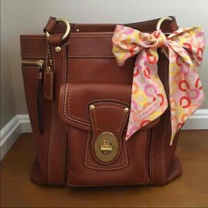 Coach Bags - Authentic Coach top handle tote bag